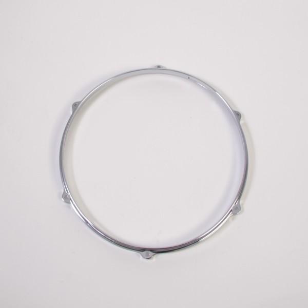"hoops 12"", die-cast, 6 hole, chrome, Snareside (MDH12S-6)"
