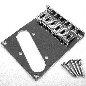 IBANEZ Talman IFX10 Basegeplate Brass 6 String - Nickel (2GB2JAC002)
