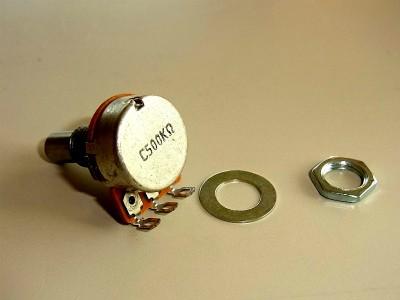 IBANEZ Potentiometer C500K - Mid Freq./Solid (3VR3PC0001)