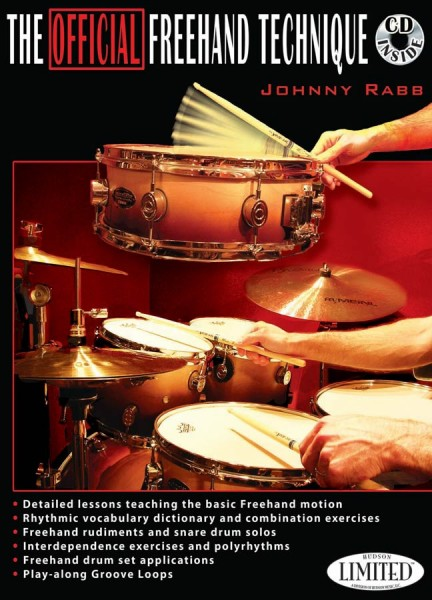 """Johnny Rabb """"The Official Freehand Technique"""" Lehrbuch inkl. CD - Englisch (JRABBBUCH2)"""
