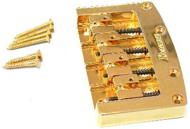 IBANEZ Bridge and Tailpiece ACCU-CAST B200 gold - Gold (2AC1B200G)