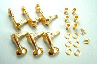 IBANEZ Mechanikensatz - für 6 String Halbakustik Gitarren gold (MB5100G)