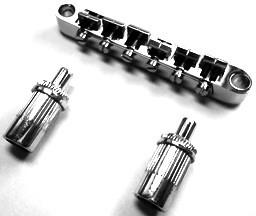 IBANEZ Bridge ART-STR AS/AM53 - for Semi Hollow Body Guitar chrom (2TU12A0009)