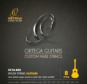 ORTEGA Single String - Nylon Silver- plated Copper Wound - Single String 037 (OCTA-8A5)