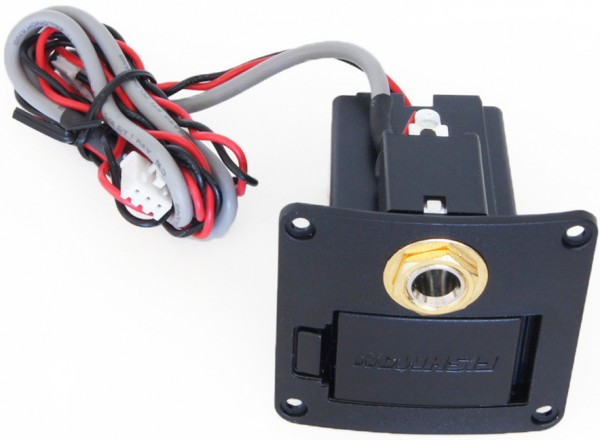 ORTEGA Batteriefach / Klinkenbuchse Fishman - gold (OER-10011)