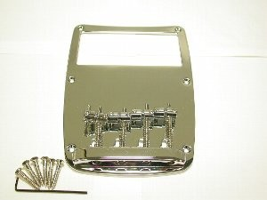 IBANEZ Bridge - 4 string in chrome for ATK series (2BB1A14C)
