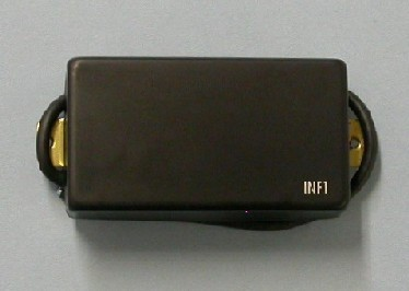 IBANEZ Neck Pickup INFINITY1 Humbucker metal covered - schwarz für RGR/S Serie Ibanez (3PU1MA0001)