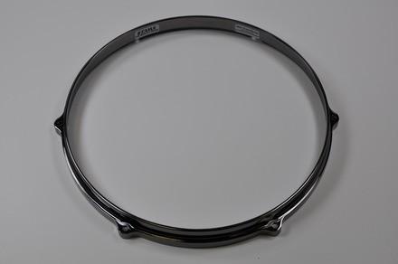 """TAMA Die-Cast hoop 14"""" 6-Loch - Black Nickel Batter Side (MDH14-6BN)"""