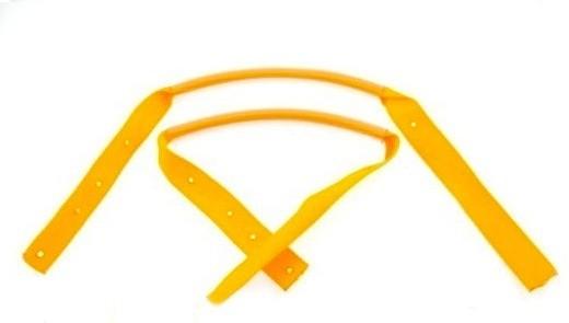 Hardcase Bass Case Handle - Textile Strap with rubber hose handle (P727)