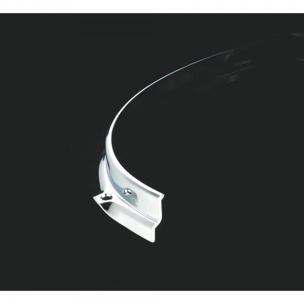 """TAMA Sound Arc Hoop 14"""" 10-Hole - Black Nickel Batter Side (MSH1410BN)"""