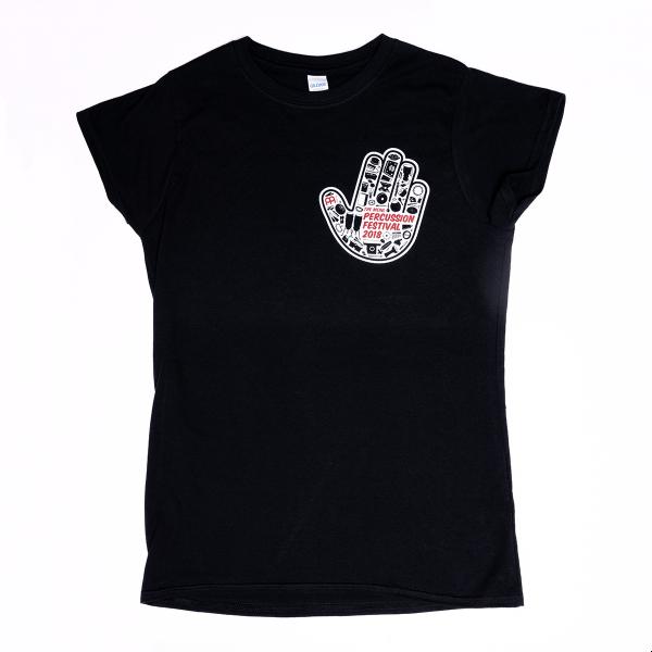 MEINL Percussion Festival 2018 T-Shirt - Girlie (MPF18-TSG)