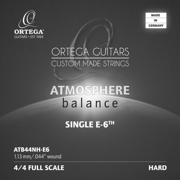 ORTEGA Atmosphere Balance Series String - High Tension Silver Plated Copper 0.43 (ATB44NH-E6)