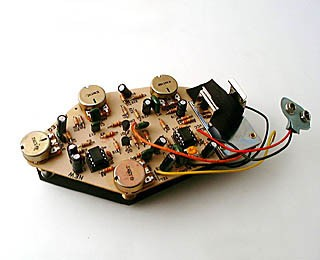 IBANEZ EQ PCB set for ATK 3-band without switch (3EQ1EQB34)