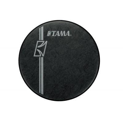 "TAMA 22"" Fell Reso Black Fiber - Weisses Logo (BK24BMFH)"