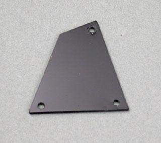 IBANEZ plastic truss rod cover - black (4PT1CRGS1B)
