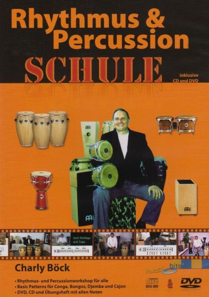 "DVD Charly Böck ""Rhythmus & Percussion Schule"" (DVD15)"