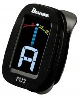 IBANEZ Chromatisches / Automatisches Clip Stimmgerät - Black (PU3-BK)