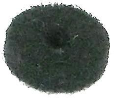 ORTEGA Filzbeilage für Gurtknopf - schwarz (OER-30050)