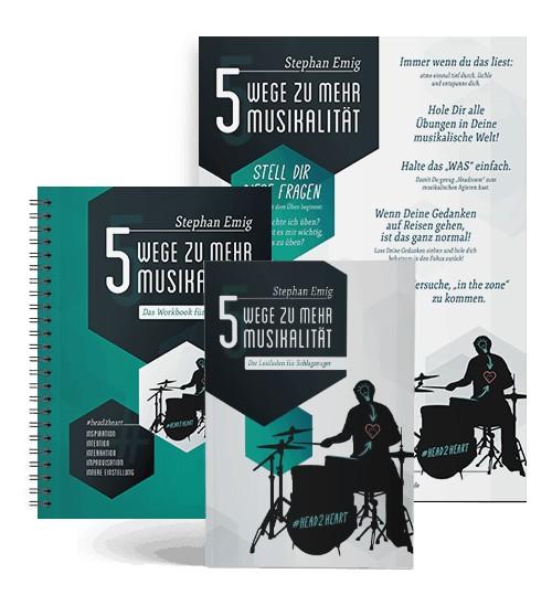Stephan Emig - 5 Wege zu mehr Musikalität (EMIGBOOK)