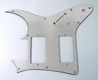 IBANEZ PVC Schlagbrett - hairline silver für GRGM08LTD3-NSV (4PG27A0007)
