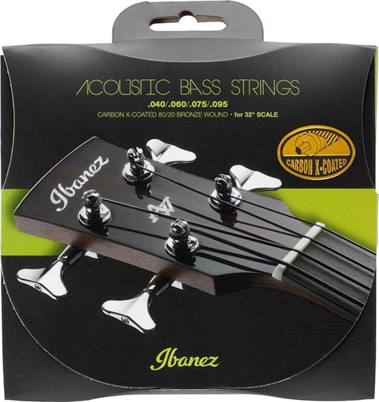 """IBANEZ Carbon Coated Strings für 32"""" scale Acoustic Bass Guitar - 040-095 80/20 bronze (IABS4XC32)"""
