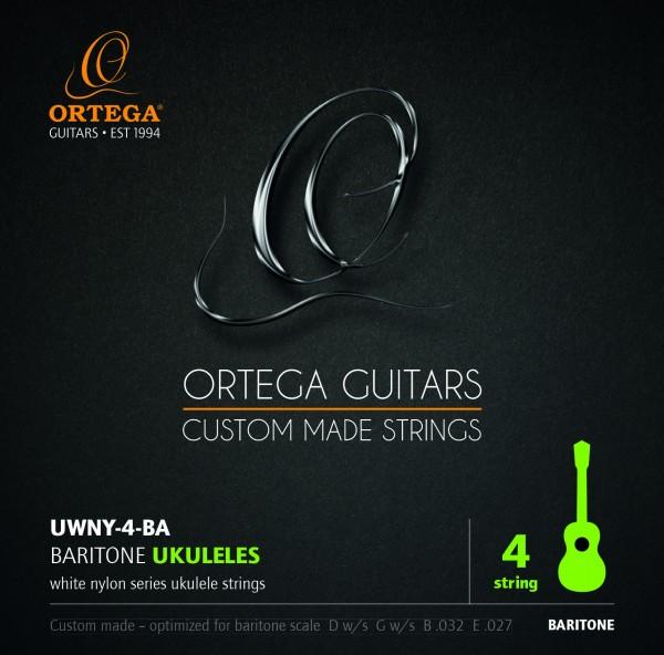 ORTEGA Saiten - für Bariton-Ukulelen (UWNY-4-BA)