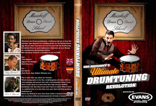 DVD Udo Masshoff's Ultimate Drumtuning Revolution - powered by Evans (DVD11)