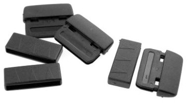 HARDCASE Gurtenden aus Plastik für 25mm Bänder (P1117)