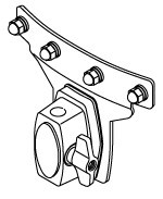 """TAMA 08"""" Star-Cast Mounting System for Superstar - incl Drum Hoop (MSM8F)"""
