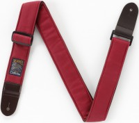 IBANEZ Designer Collection Guitar Strap - Wine Red (DCS50-WR)