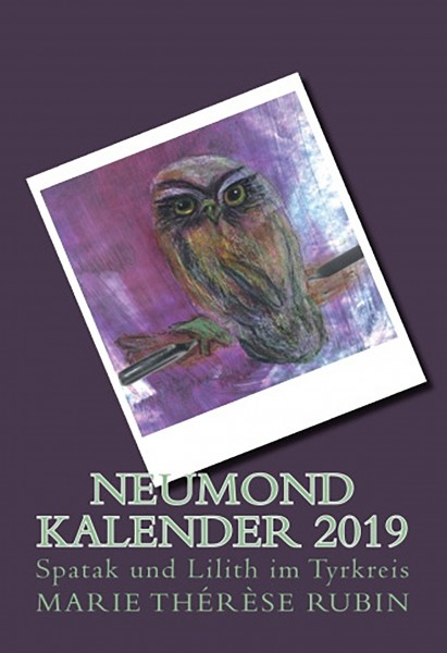 Neumond Kalender 2019 - Taschenbuch 378 Seiten (RUBIN-19)