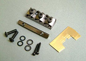 IBANEZ locking nut set 43mm - cosmo black for selected JEM/RG/S series models (2TL1H43K)