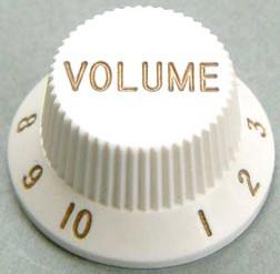 IBANEZ standard control knob - white for AT100CL/JEM505/JEM7V7/JEM7V (4KB1JF1W)