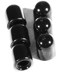 MEINL Percussion Cover Cap rubber (6-pc set) - for MEINL 0,31 inch clamp screw (CAPS-01)