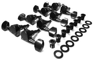 IBANEZ Mechanikensatz - für RG2228/JCRG20138 schwarz (2MH08A0001)