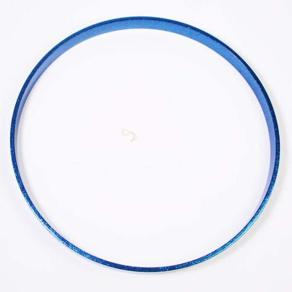 """TAMA Spannreifen 22"""", Blue Sparkle, für SC Maple/Performer Birke (MBH22-BLS)"""