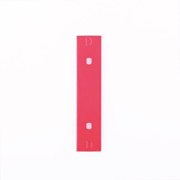 "Nino Klangplatte ""D3"" in rot für NINO901 Glockenspiel (NI-SPARE-02)"