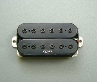 IBANEZ Pickup IBZ/QM1 humbucker neck reversed - black for S series (3PU1JQM1BF)