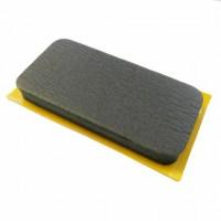 HARDCASE Rubber Foam Pad 100x50 MM (P709)