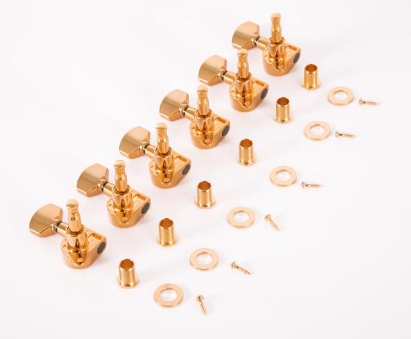 IBANEZ Mechanikensatz - 6 x links gold (MB500G)