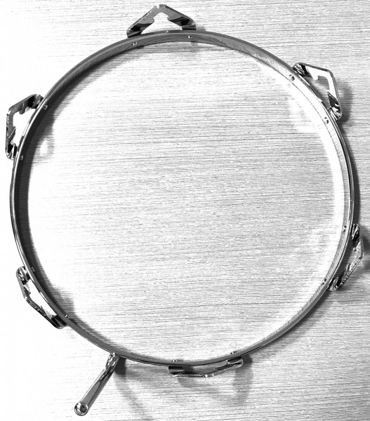 "MEINL Percussion TTR rim for Woodcraft Conga WC - 11 3/4"" chrome (TTR-24)"