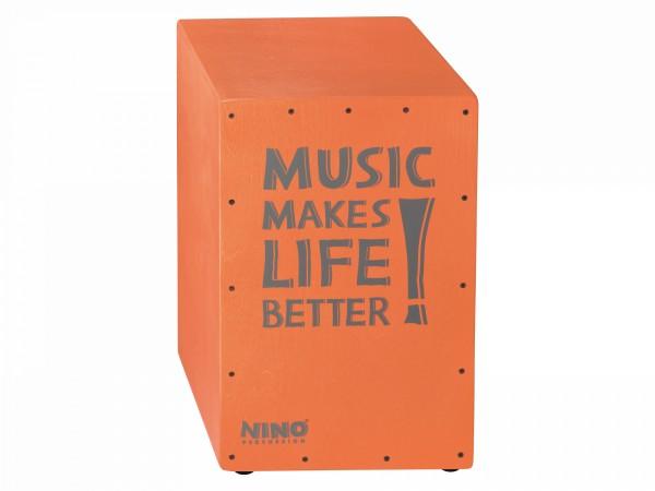NINO Percussion Better Life Series Cajon - Salmon (NINO952SA)