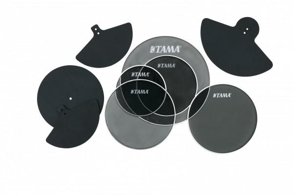 "TAMA Silent Practice Set - 18"" Bass Drum/14"" Floor Tom/10"" & 12"" Tom Tom/14"" Snare Drum/14"" HiHat/16"" Cymbal/18""-20"" Cymbal (SPP518CN)"