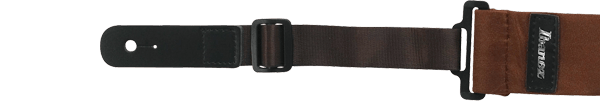 Ibanez Guitarstrap Powerpad GFS50s Short Version - Brown (GSF50S-BR)