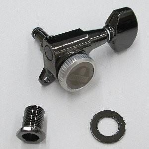 IBANEZ Einzelmechanik SG381 links - MG-T 18,5 mm Post mit Schraube, 07 Button/ Cosmo Black (2MG0002SL-CK)