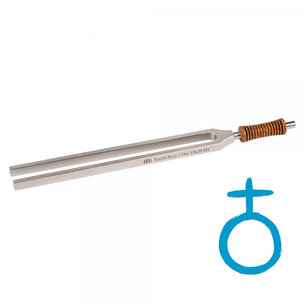 MEINL Sonic Energy Therapie Stimmgabel - Erde - 136.10 Hz (TTF-E)