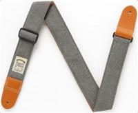 IBANEZ Designer Collection Guitar Strap - Charcoal Gray Denim (DCS50D-CGY)