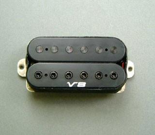 IBANEZ Bridge Pickup IBZ/V8 Humbucker - schwarz für SIGNATURE/RG/RGA Serie (3PU1J1V8B2)