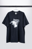"""IBANEZ T-Shirt """"Creation of Wonders"""" - black/100% Cotton/Size 3XL (ITWONDERS)"""