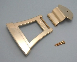 IBANEZ Tailpiece FBT40 for Acoustic Bass AFB200F/AFB200 - gold für AFB Serie (2TP1HFT4G)